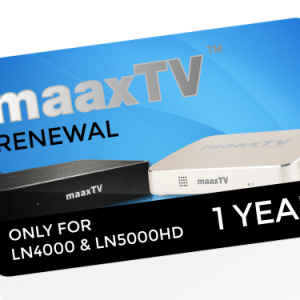 12 months MAAXTV Renewal Code – Full Package