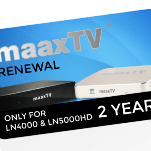 24 months MAAXTV Renewal Code – Full Package