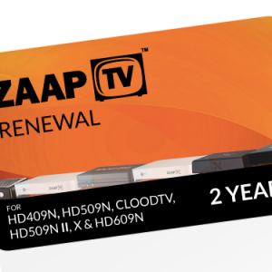 24 months ZAAPTV Renewal Code – Full Package